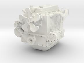 6C DIESEL ENGINE COMPLETE ONE16 CUSTOMS in White Natural Versatile Plastic
