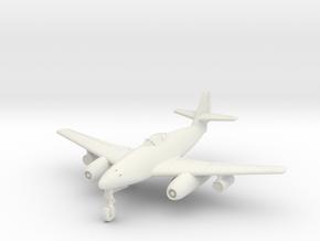 (1:144) Messerschmitt Me262 C-1a w/ R4M pods in White Natural Versatile Plastic