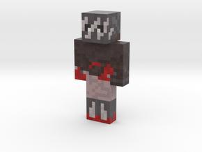 bluedotblackleg | Minecraft toy in Natural Full Color Sandstone