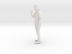 Printle C Homme 528 - 1/18 - wob in White Natural Versatile Plastic