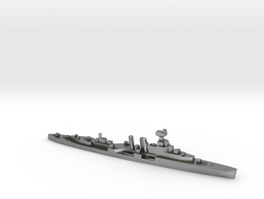 HMS Coventry 1:1800 WW2 naval cruiser in Natural Silver