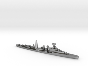 HMS Coventry (masts) 1:2400 WW2 naval cruiser in Natural Silver