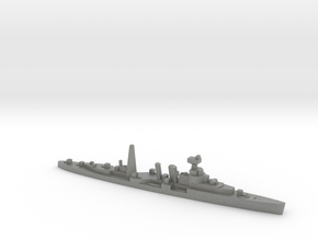 HMS Coventry (masts) 1:2400 WW2 naval cruiser in Gray PA12