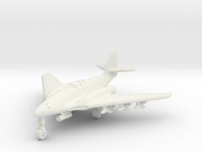 (1:200) Messerschmitt Me 262 HG III w/ X4 & BR 21 in White Natural Versatile Plastic