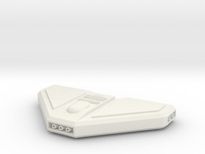 1/1000 Mk3 Pod Alternate design in White Premium Versatile Plastic