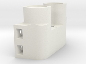 cnc part 7 in White Natural Versatile Plastic