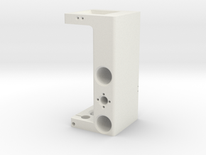 cnc part 6 in White Natural Versatile Plastic