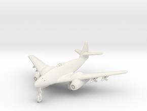 (1:144) Messerschmitt Me262 High speed DVL design in White Natural Versatile Plastic