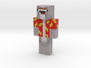NedMcNarwhal | Minecraft toy in Natural Full Color Sandstone