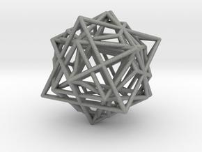 Metatron´s Cube in Gray PA12