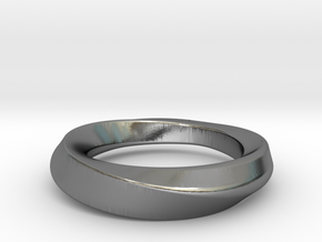 mobius 21.89mm in Polished Silver