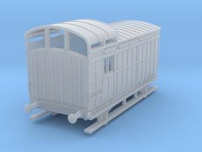 o-148fs-nlr-18-6-luggage-brake-coach in Smooth Fine Detail Plastic