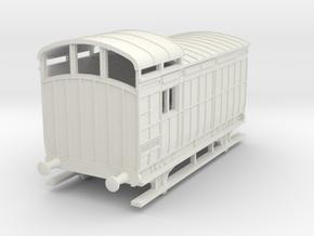 o-87-nlr-18-6-luggage-brake-coach in White Natural Versatile Plastic