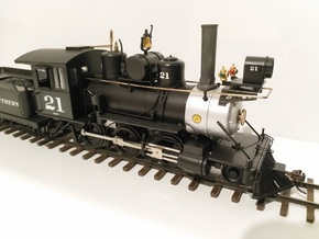 Straight Stack for Bachmann On30 2-6-0 Mogul in Smooth Fine Detail Plastic