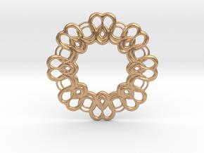 New Pendant in Natural Bronze