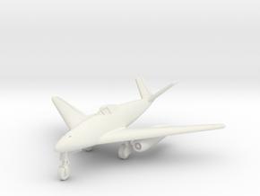 (1:144) Messerschmitt Me262 w/ DVL canopy 'C' in White Natural Versatile Plastic
