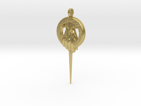 Hand of the King Keychain Game of Thrones in Natural Brass
