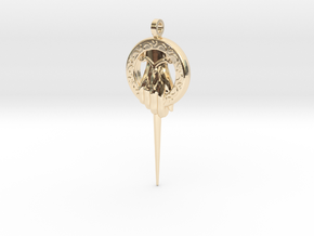 Hand of the King Keychain Game of Thrones in 14k Gold Plated Brass