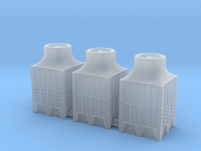 1:285 Industrial Chiller 3pc in Smooth Fine Detail Plastic