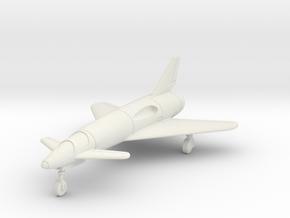 """(1:144) Dornier Canard """"Cloverleaf"""" (Gear down) in White Natural Versatile Plastic"""