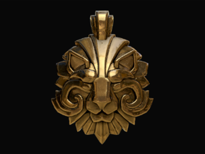 Dota2 - Medal of Courage II in Polished Bronze