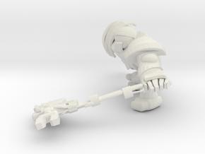 SPACEMARINER 4 in White Natural Versatile Plastic
