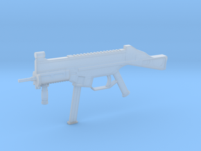 1:6 Miniature Heckler & Koch UMP9 in Smooth Fine Detail Plastic