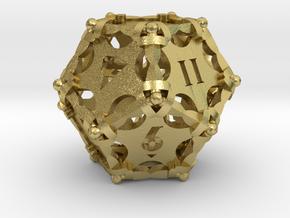 D12 Balanced - Dagger in Natural Brass