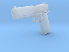 1:3 Miniature Colt Delta Pistol in Smooth Fine Detail Plastic