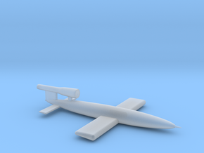 1:12 Miniature German V1 Flying Bomb in Smooth Fine Detail Plastic