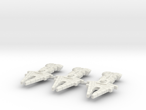 Orion (KON) Light Cruiser Datagroup (sprued) in White Natural Versatile Plastic