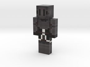 Obsidienne | Minecraft toy in Natural Full Color Sandstone