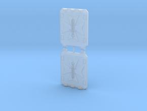 Sword Templar Light Vehicle Doors in Smooth Fine Detail Plastic