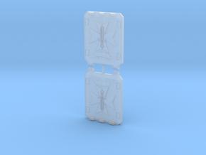 Sword Templar Light Vehicle Doors Veteran Style in Smooth Fine Detail Plastic