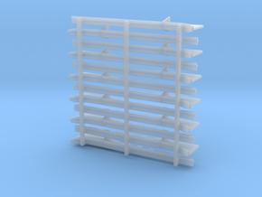 Unterzüge Typ-C 1:40 für Tender KL401/402/403 in Smooth Fine Detail Plastic