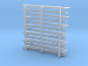 Unterzüge Typ-B 1:40 für Tender KL401/402/403 in Smooth Fine Detail Plastic
