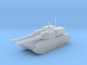 Assult Tank Warrior in Smooth Fine Detail Plastic