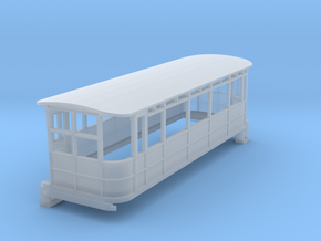 o-152fs-dublin-blessington-drewry-railcar in Smooth Fine Detail Plastic