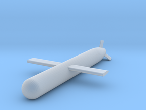 1:48 Tomahawk Cruise Missile in Smooth Fine Detail Plastic: 1:48 - O