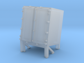 1/144 Ammo Locker for Hedgehog Thrower in Smooth Fine Detail Plastic
