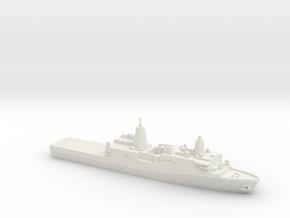 San Antonio-class LPD, 1/1800 in White Natural Versatile Plastic