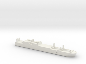1/1800 Scale USNS Gordon T-AKR 296 in White Natural Versatile Plastic
