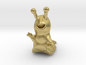 Sluggo in Natural Brass