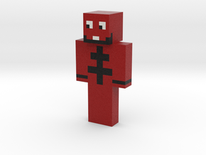 Thunder_Fight | Minecraft toy in Natural Full Color Sandstone
