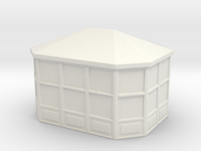 Gazebo 1/160 in White Natural Versatile Plastic