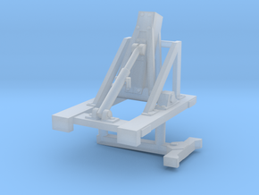 1/87th Lowboy Trailer Boom Stand in Smooth Fine Detail Plastic