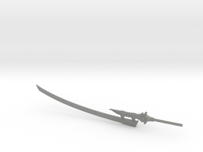 6 inch Neir Automata Virtuous Treaty Sword in Gray PA12
