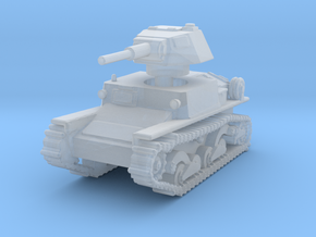 L6 40 Light tank 1/285 in Smooth Fine Detail Plastic