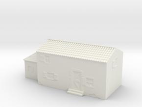 Italian style house 1/160 in White Natural Versatile Plastic