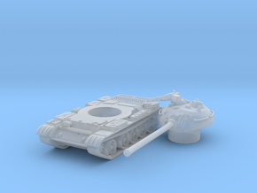 T 54 tank scale 1/285 in Smooth Fine Detail Plastic